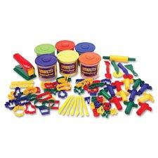 Classic Dough/Tool Box Assortment, 84 Piece, Multi Color, Sold as 1 Set, 84 Each per Set by Chenille Kraft