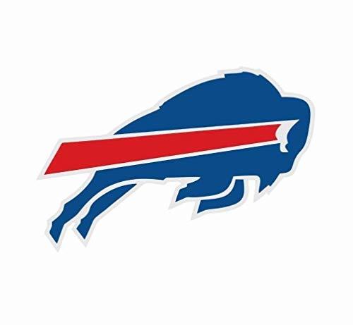 Buffalo Bills Window Sticker | 3 Size NFL Football Logo Sports Bike Patch | Buffalo Bills car Decal (3 inch)