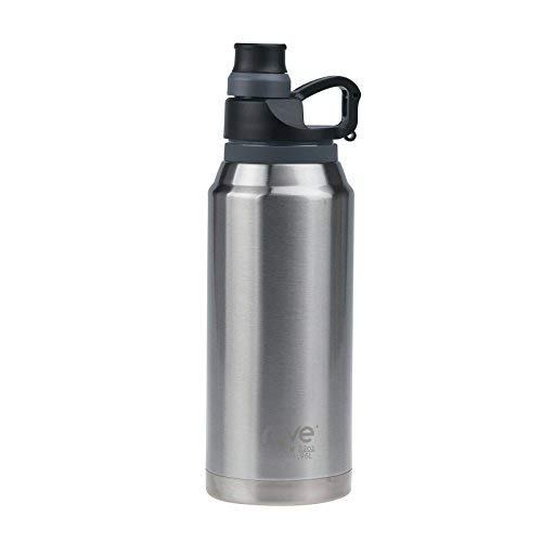 32oz Double Wall Stainless Steel Vacuum Seal Bottle - Limitless 3 (Silver)