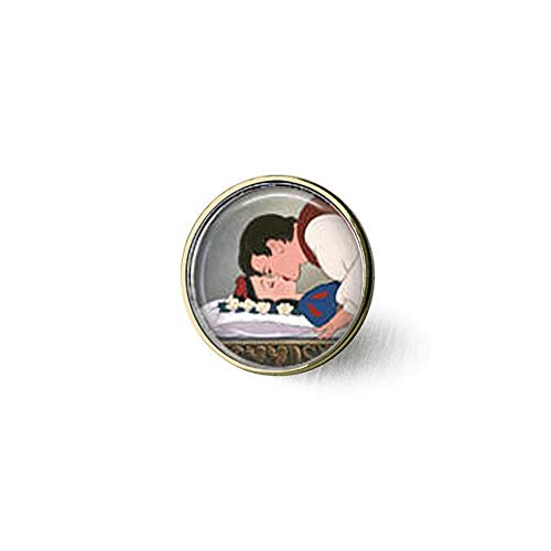 Snow White & Prince Charming Brooch