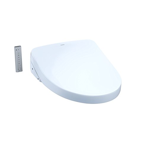 TOTO SW3056#01 S550e WASHLET Electronic Bidet Toilet Seat with EWATER+ and Auto Open and Close Contemporary Lid, Elongated, Cotton White ()