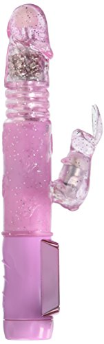 California Exotic Novelties Petite Thrusting Jack Rabbit Vibrator - Pink