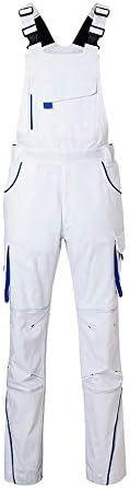 (ジェームズ・アンド・ニコルソン) James & Nicholson ユニセックス Workwear Level 2 作業用 オーバーオール つなぎ サロペット 作業服