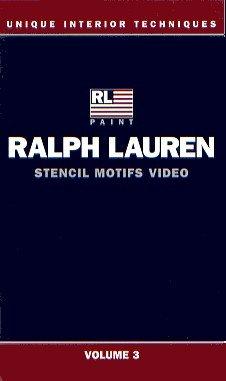 Studio Ralph Lauren - RALPH LAUREN Unique Interior Techniques STENCIL MOTIFS - Vol 3