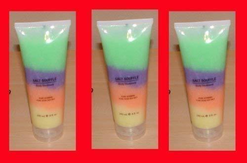 3x Swisa Beauty Dead Sea Salt Souffle Pure Vitamins Rain Bow by Swisa Beauty
