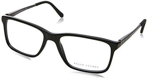 Ralph Lauren RL6133 Eyeglass Frames 5001-54 - Black - Lauren Men Glasses Ralph