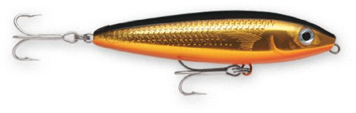 - Rapala Saltwater Skitter Walk 11 Fishing lure, 4.375-Inch, Gold Mullet