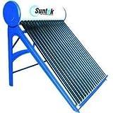 Suntek Energy Metal Solar Water Heater - (100 Litres, Multicolor)