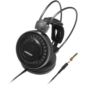 - Audio-Technica ATH-AD500X Audiophile Open-Air Headphones - Stereo - Mini-phone - Wired - 48 Ohm - 5 Hz 25 kHz - Gold Plated - Over-the-head - Binaural - Circumaural - 9.84 ft Cable - ATH-AD500X