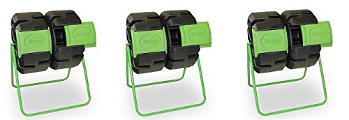 - FCMP Outdoor Dual Body Tumbling Composter by HOTFROG (3-(Pack))