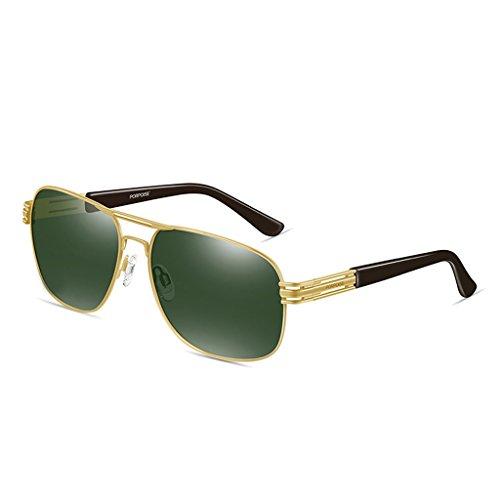 GAOYANG Color De Espejo Gafas Conducción C De B Vendimia Polarizadas Tendencia Sol Sol Hombres Conductor Gafas Gafas Para Ojos Hipster T8rqSTO