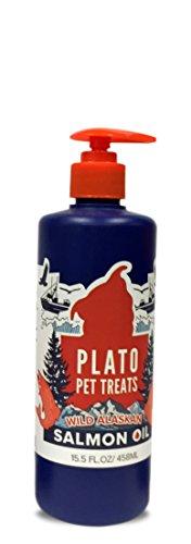 Plato Wild Alaskan Salmon Oil - 15.5 Oz