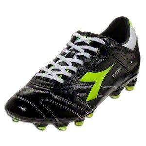 Diadora Men's Italica K Pro MG 14 Sneakers,Black,8.5 M
