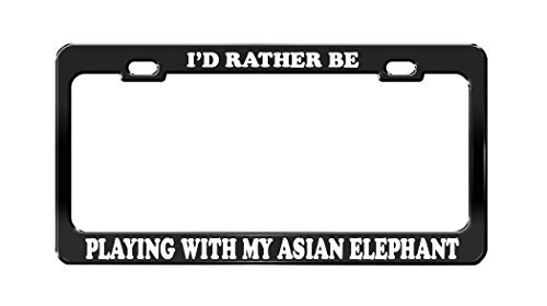 license plate frame asian - 2