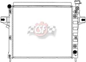 jeep cherokee csf radiator - 9