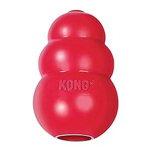 KONG – Classic – Juguete de Resistente Caucho Natural – para morder, perseguir o Buscar – para Perros Medianos