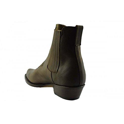 LOBLAN Ankle brown Stiefeletten Herren 298 Westernstiefel 40 Biker braun Boots und Größe stiefe Loblan Damen 298 rgw8aCqTxr