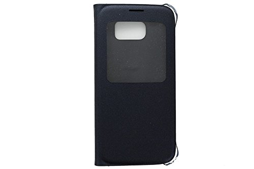 Samsung S-View Flip Coverfor Samsung Galaxy S6 - Black w/Stylus - Retail Packing