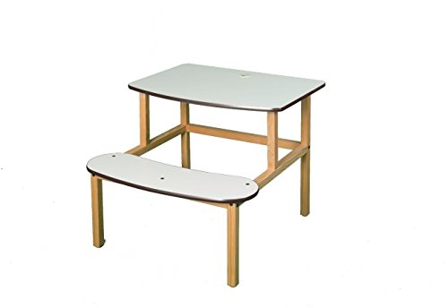 Wild Zoo Student Desk for 1 or 2 Kids - White