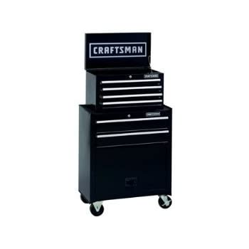 High Quality Craftsman 6 Drawer Tool Center, Rolling Steel Cabinet / Chest [Misc.]
