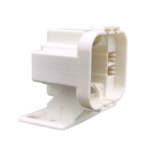 Compact Fluorescent CFL 4 Pin 75W 600V Lampholder Socket Horizontal Mount - Pin Fluorescent Socket