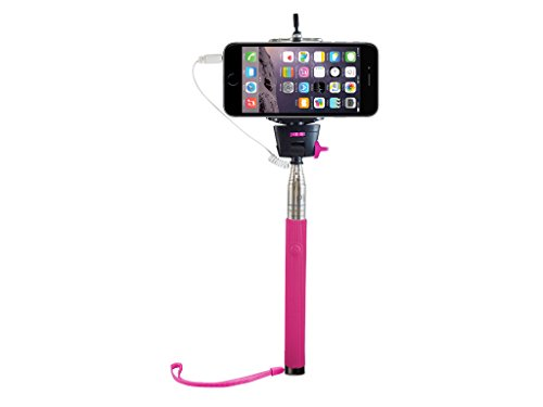 selfie stick iplanet extendable wireless cable control self portrait monopod with remote shutter. Black Bedroom Furniture Sets. Home Design Ideas