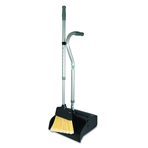 Unger UNG EDTBG Ergo Dust Pan with Broom, Metal, 12