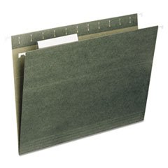 (3 Pack Value Bundle) UNV14215 Hanging File Folders, 1/5 Tab, 11 Point Stock, Legal, Standard Green, 25/Box