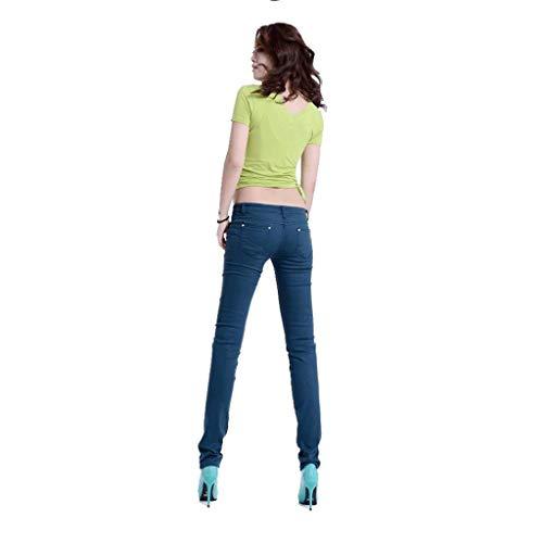Slim Jeans Hips Thin Pieds Femmes RXF Pencil Pantalons Pants d't wfgWOUvRq
