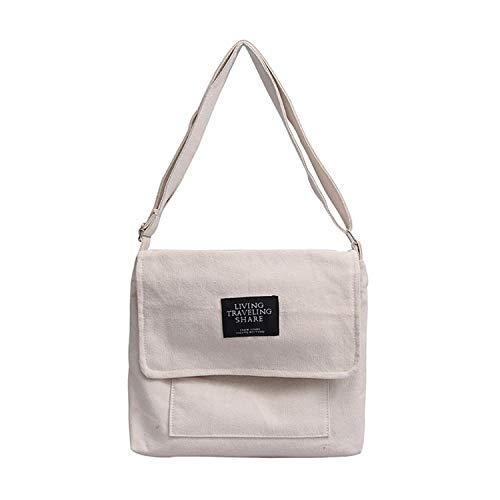 Ashley Shoulder Bag - Women Shoulder Bag Large Shopping Bag Summer White Casual Jumbo Canvas Totes Beach Bag Shoulder Bag,White,CN