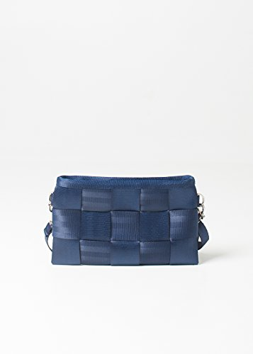 Harveys Womens Seatbelt Hipster Wallet (Indigo)