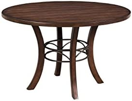 Hillsdale Furniture Cameron Wood Counter Height Table, Chestnut Brown