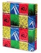 Mohawk color copy premium neon white paper 100 lb text 11-17