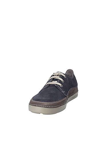 Azul Edge Derby de Zapatos Gosler Hombre para Clarks Cordones CwO7Pqx7
