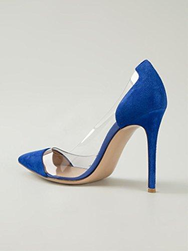 Kolnoo , Coupe fermées femme Bleu