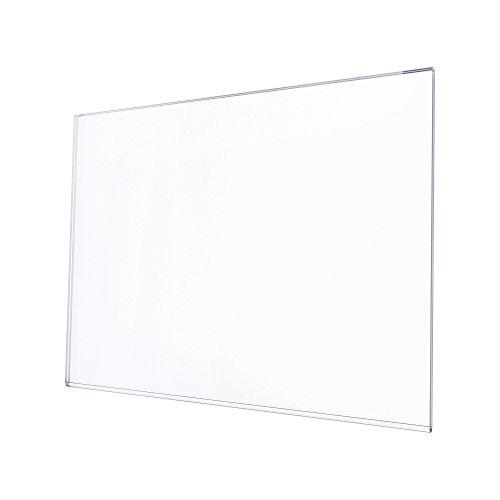 Deflecto Wall Art Display Frame, Large, Horizontal, 18