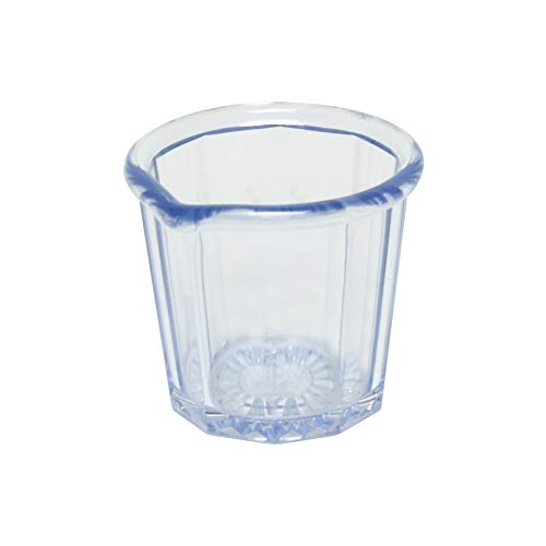 2 oz syrup pitcher, clear, comes in 108/ Pack