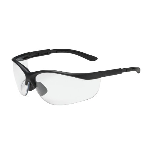 hi-voltage-ac-250-21-0400-semi-rimless-safety-glasses-with-black-frame-clear-lens-and-anti-scratch-c