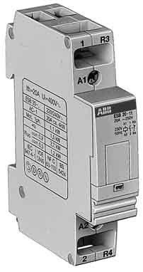 El 878 5 - elettrocondutt. (abb spa) el8785 esb 20-02 cont 230v 11kw