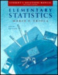 Elementary Statistics (solutions manual)