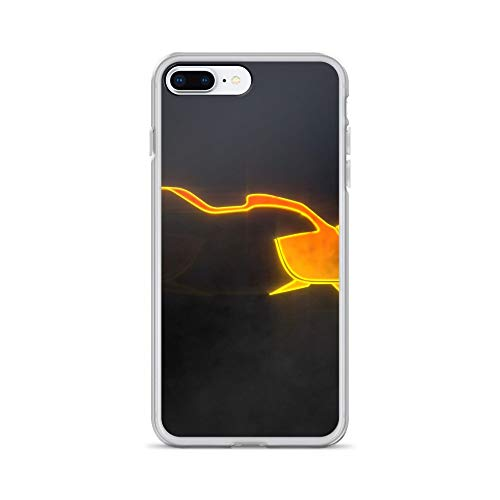 (iPhone 7 Plus/8 Plus Case Anti-Scratch Gamer Video Game Transparent Cases Cover Journey Gaming Computer Crystal)