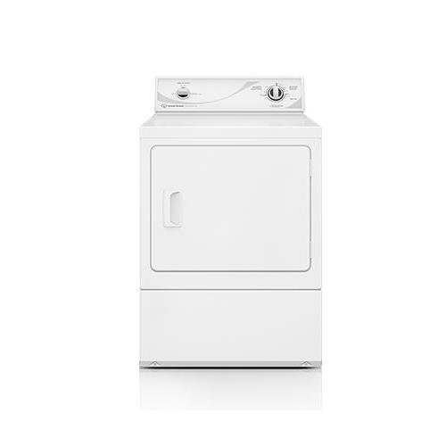 Speed Queen ADE3SRGS 27' Electric Dryer with 7.0 cu. ft. Capacity Commercial-Grade Steel Cabinet Secured Lint Filter 3 Temperature Settings and ADA Compliant in