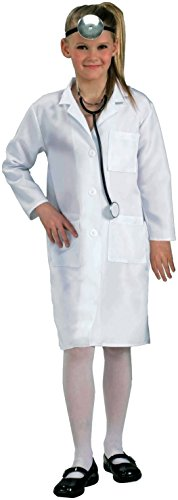Forum Novelties Child's Costume Doctor Lab Coat, One Size/Medium (Mad Doctor Halloween Costume)