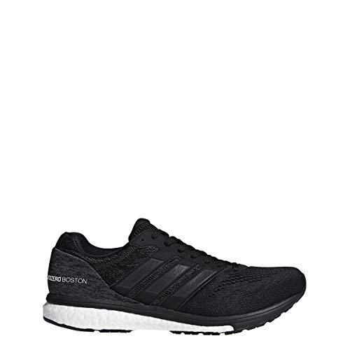 Adidas Adizero Boston 7 Zapatillas de Running para Hombre, Negro/Blanco/carbón, 9 M US
