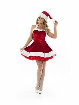 Disfraz Sexy Mujer SRA. SANTA CLAUS Traje Rojo Navidad ...
