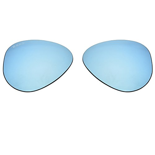 Bnus Replacement Lenses for Ray-Ban RB3025 58mm Sunglasses