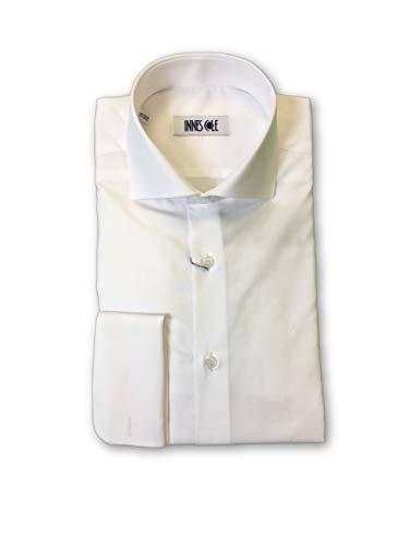 Ingram Fit In White Pattern Subtle Shirt Classic Size 15 Dot Cotton grRq5wg