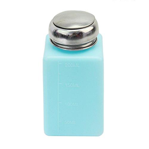 200ml Anti-Static Alcohol Liquid Acetone Methanol Push Down Dispenser Container
