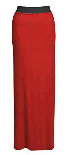 Uptown Girl - Jupe - Femme * taille unique Rouge