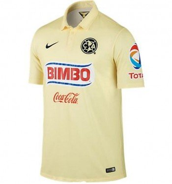 Nike Club America Home Stadium Soccer Jersey 2014 (Small) ()